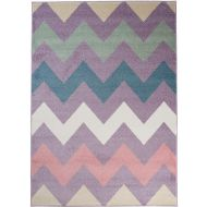 Dywan T819A LIGHT LILAC HAPPY EBR - Dywan T819A LIGHT LILAC HAPPY EBR - dywan_t819a_light_lilac_happy_ebr_witek_pl00.jpg