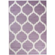 Dywan T824A LIGHT LILAC HAPPY EBR - Dywan T824A LIGHT LILAC HAPPY EBR - dywan_t824a_light_lilac_happy_ebr_witek_pl01.jpg