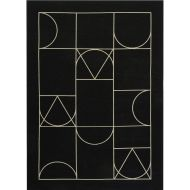 Dywan Carpet Decor Art Deco SIGNET black - Dywan Carpet Decor Art Deco SIGNET black - signetblack_0.jpg