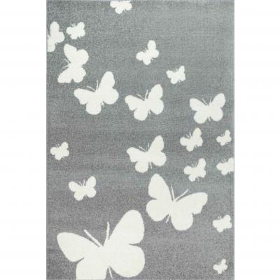 Dywan Weltom Silver Motyle Motylki Szary Weltom Tomaszów